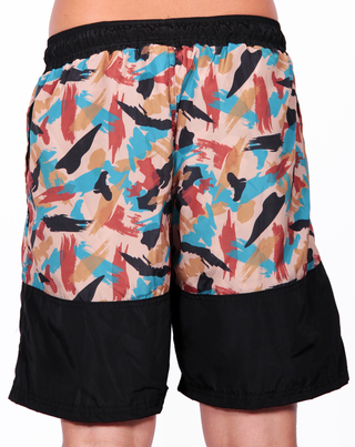 Other Culture Shorts Hip Brush Camo Preto na internet