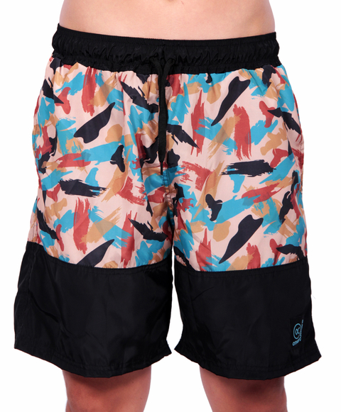 Other Culture Shorts Hip Brush Camo Preto