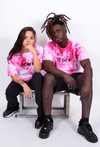 Other Culture camiseta - Gothic Tie Dye Rosa na internet