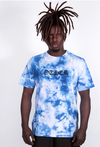 Other Culture camiseta - Gothic Tie Dye Azul