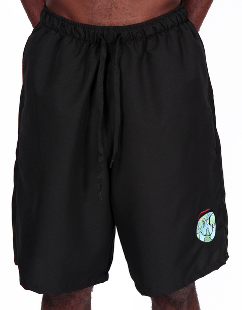Other Culture Shorts Casual Happy World Preto