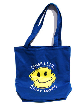 Other Culture Tote Bag Smile Royal