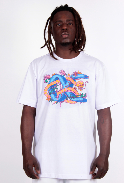 Other Culture camiseta - Snake Branco
