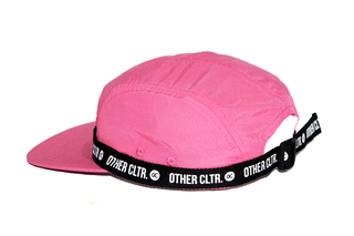 Other Culture - Five Panel Sport Band Pink - comprar online