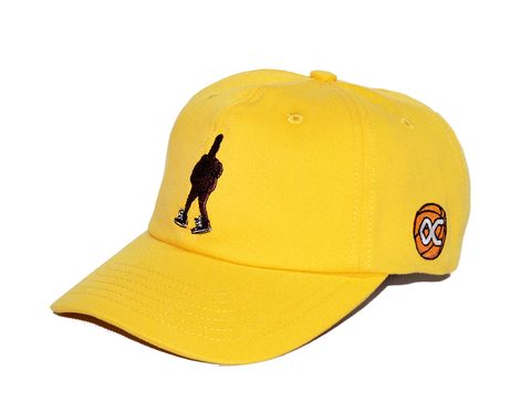 Other Culture - Boné Dad Hat Spinning Amarelo