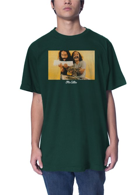 Other Culture Camiseta verde - Hapiness green