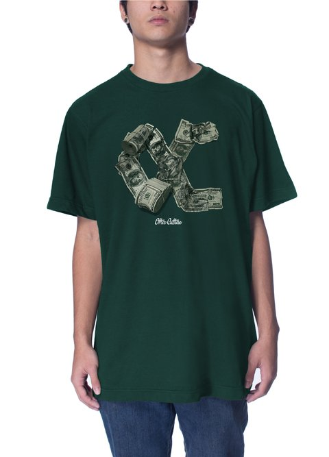 Other Culture Camiseta -  Money Cake Green