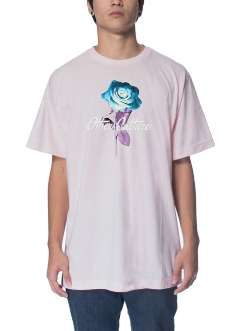 Other Culture Camiseta Rosa - INVERTED ROSE