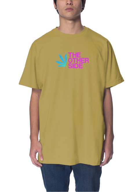 Other Culture Camiseta Caqui - HALLUCINOGEN
