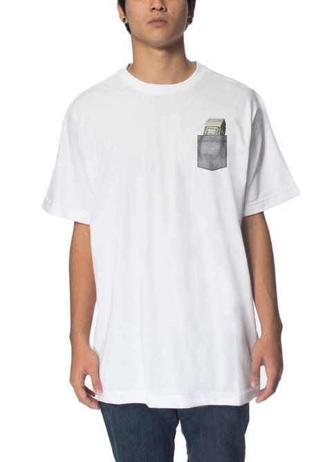 Other Culture Camiseta branca - Money Pocket White