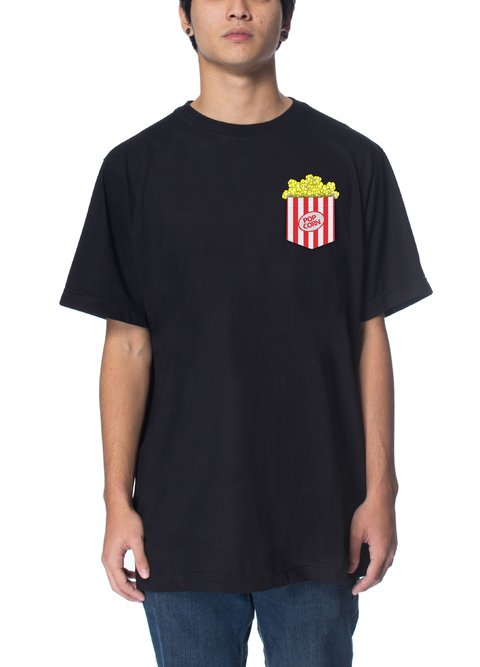 Other Culture Camiseta preta - Pop Corn Black