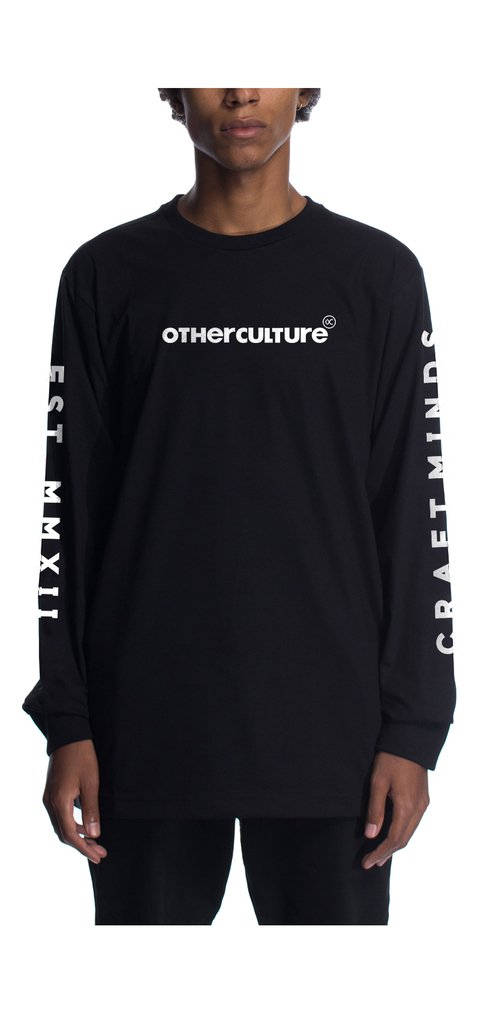 Other Culture Camiseta - Craft Minds Black