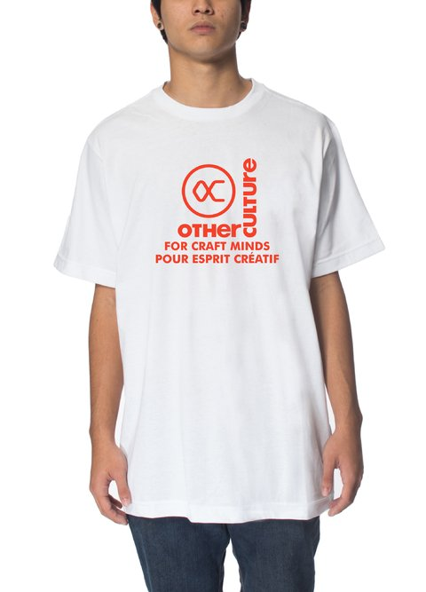 Other Culture Camiseta - Trademark White