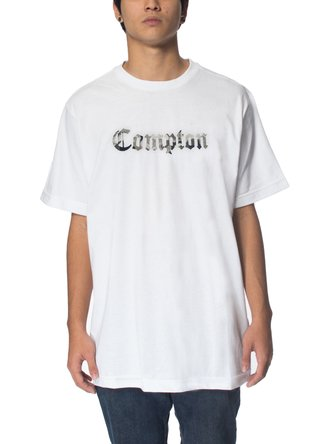 Other Culture Camiseta -  Compton Camo White