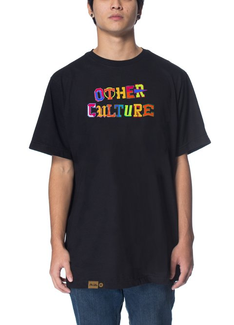 Other Culture Camiseta -  Letter Black