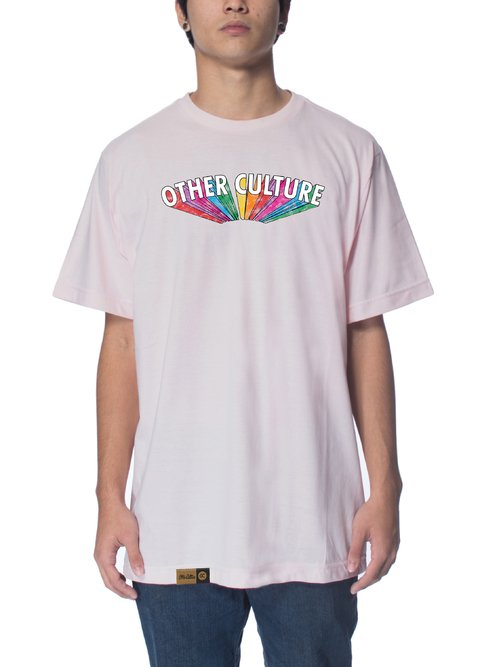 Other Culture Camiseta -  Rainbow Pink