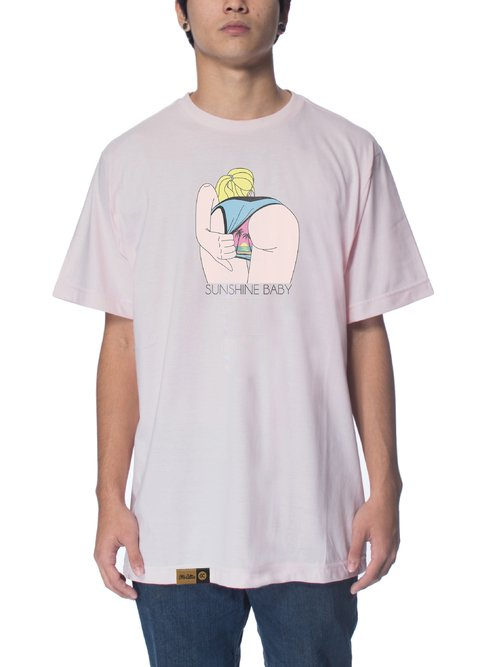 Other Culture Camiseta -  Sunshine Pink