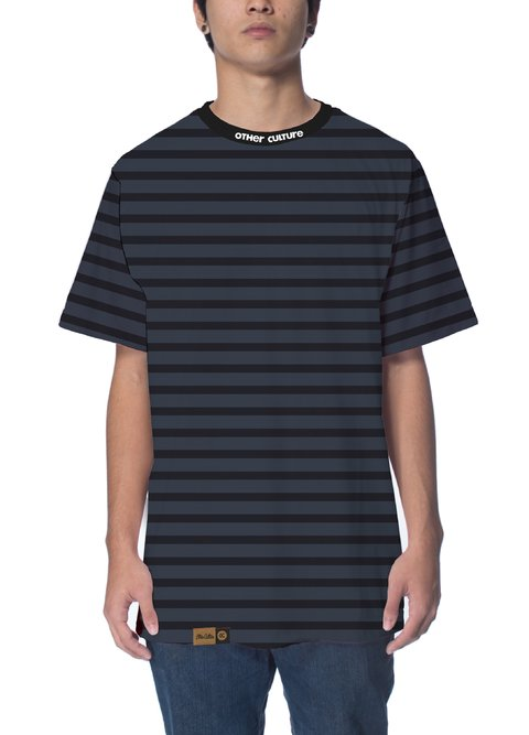 Other Culture Camiseta -  Striped Blue
