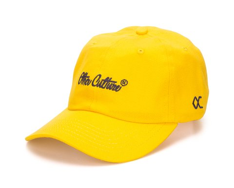 Other Culture bone aba curva amarelo Dad Hat - Signature Brand Yellow
