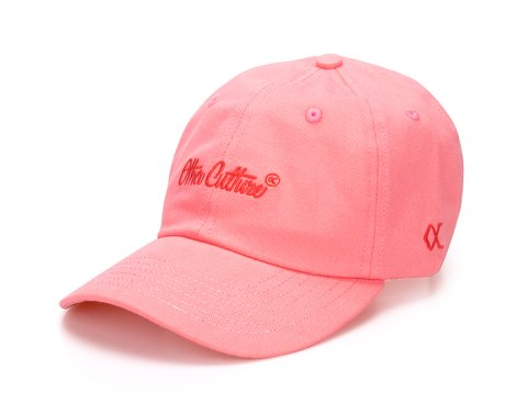 Other Culture bone aba curva Pink Dad Hat - Signature Brand Pink