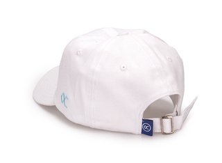 Other Culture bone aba curva Branco Dad Hat - Signature Brand White - comprar online