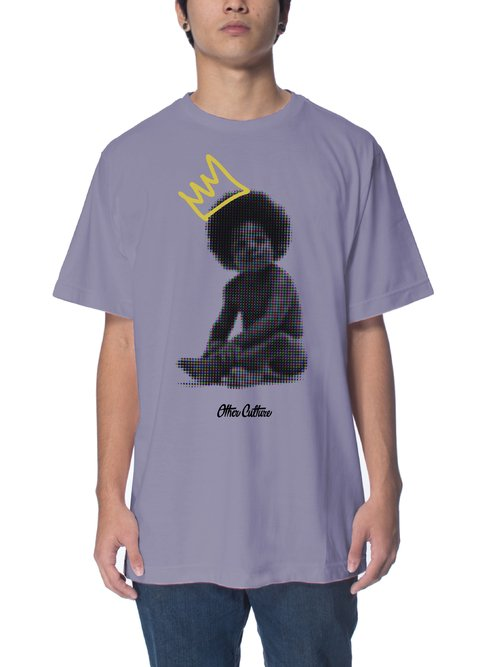 Other Culture Camiseta -  Baby Big Purple