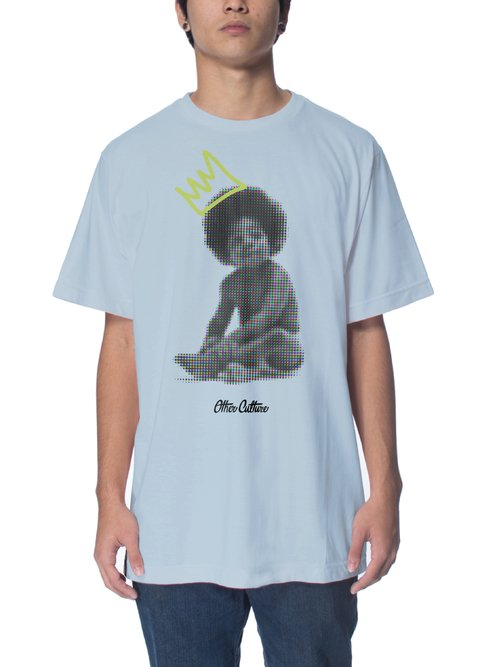 Other Culture Camiseta -  Baby Big Blue Light