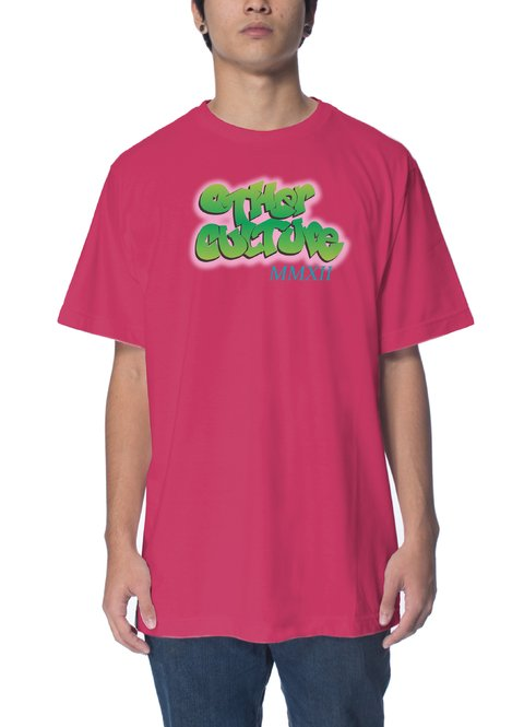 Other Culture Camiseta -  Bel Air Pink Neon