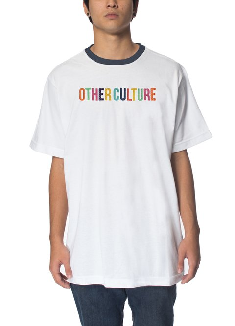 Other Culture camiseta - Turn Up White