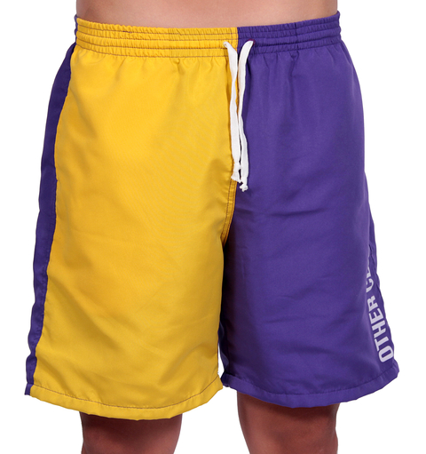 Other Culture - Shorts Sport Bicolor Azul