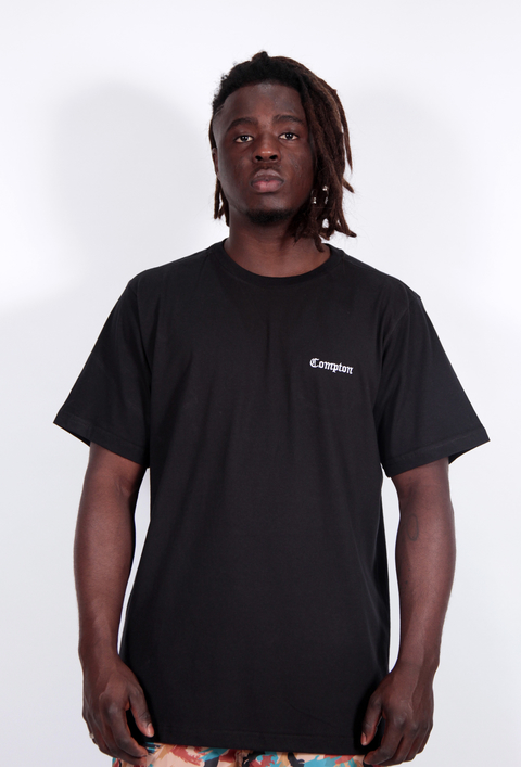 Other Culture camiseta - Mini Compton Preto