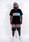 Other Culture Shorts Hip Brush Camo Preto - Other Culture