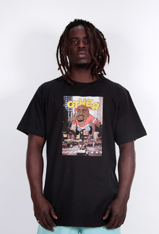 Camiseta 2pac Balloon Preto - Other Culture