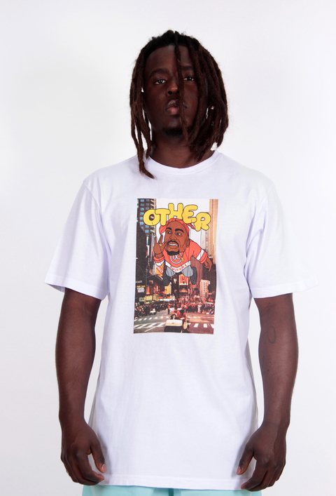 Camiseta 2pac Balloon Branca - Other Culture