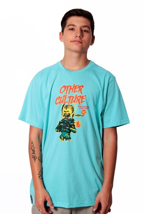 Other Culture Camiseta Space Attack Tiffany