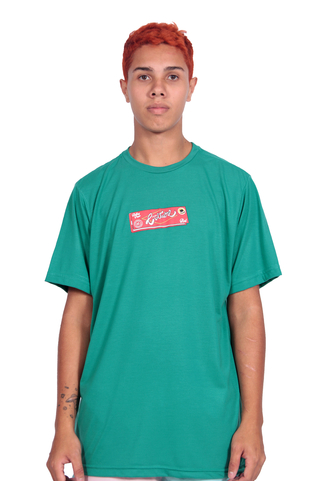 Other Culture Camiseta Rolling Paper Verde