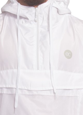 Other Culture Corta Vento - Anorak White - comprar online