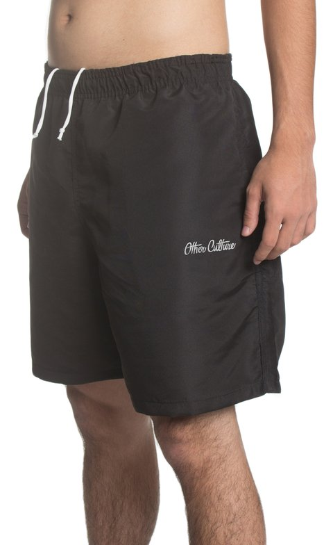 OTHER CULTURE SHORTS PRETO - SUMMER SIGNATURE