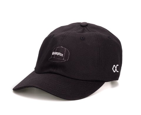 Other Culture bone Dad Hat aba curva - Compton Cap Black