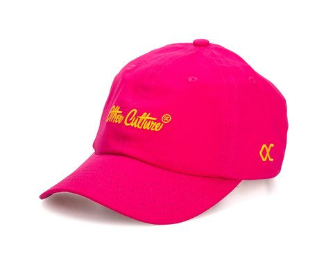 Other Culture bone Dad Hat aba curva - Signature Pink Fluor