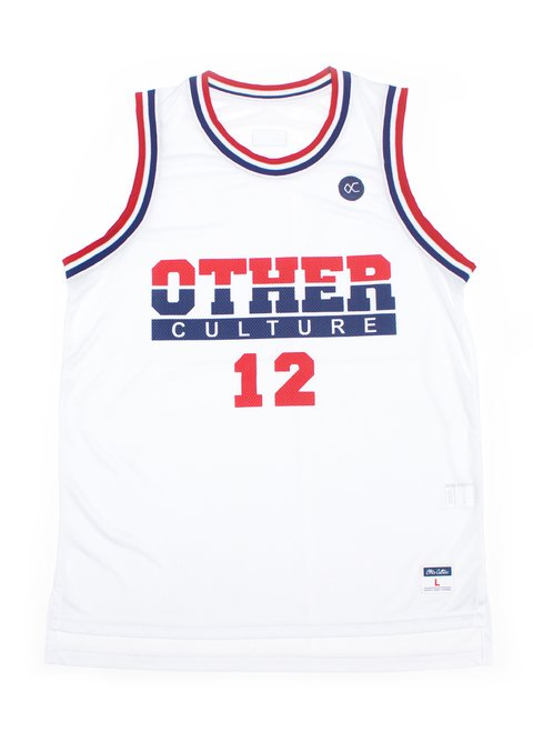OTHER CULTURE CAMISA BASQUETE - DREAM TEAM WHITE