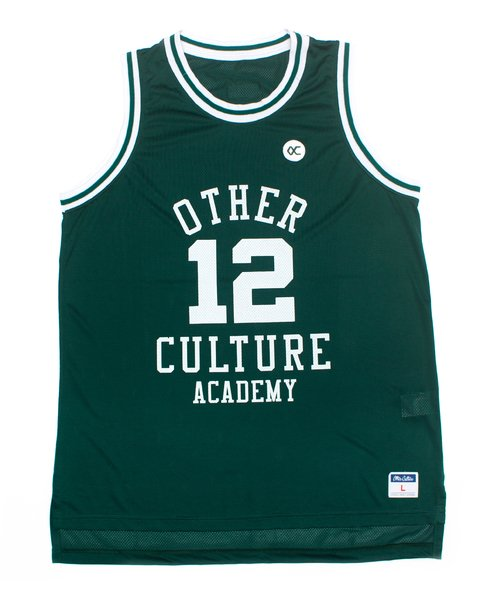 OTHER CULTURE CAMISA BASQUETE - ACADEMY GREEN