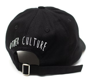 Other Culture bone aba curva preto Dad Hat - Madruga Black