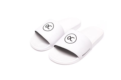 Other Culture Chinelo Slide -  Casual Logo White