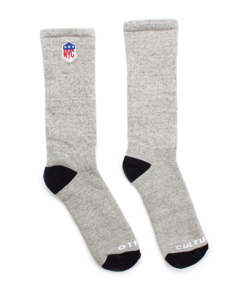 MEIA OTHER CULTURE - NYC GREY SOCK