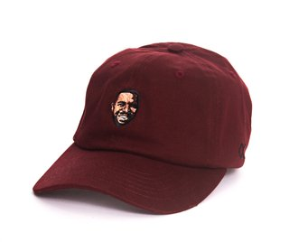 Other Culture bone aba curva vinho Dad Hat - Drizzy Wine