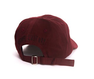 Other Culture bone aba curva vinho Dad Hat - Drizzy Wine - comprar online