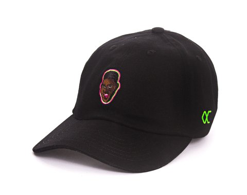 Other Culture bone aba curva preto Dad Hat - Will Black