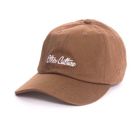 Other Culture bone aba curva Khaki Dad Hat - Signature