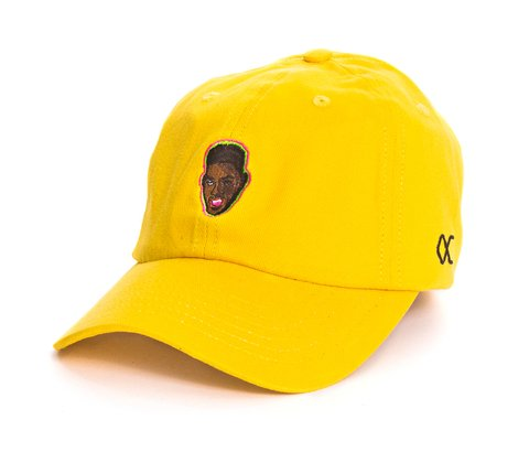 Other Culture bone aba curva amarelo Dad Hat - Will Yellow